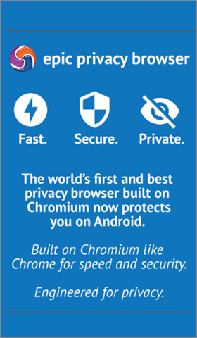 epic privacy browser