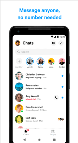 facebook messenger android auto apps
