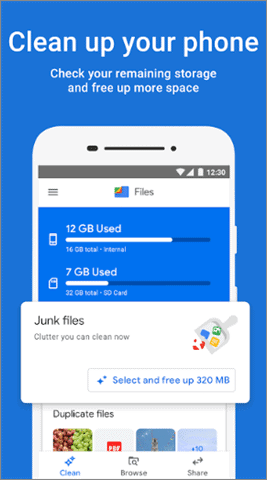 files by google best android cleaner app