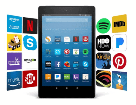 fire hd tab with alexa best tech gifts under100