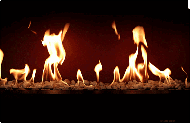 fireplace screensaver for windows 10