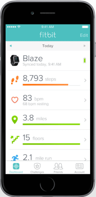 fitbit vs garmin fitbit app1