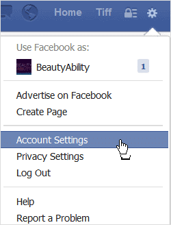 clicking-account-settings-under-the-gear-icon