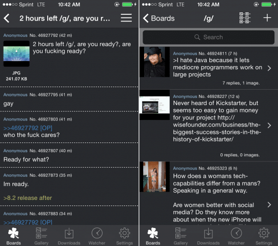 Fortune is a Quality 4chan App for iPhone