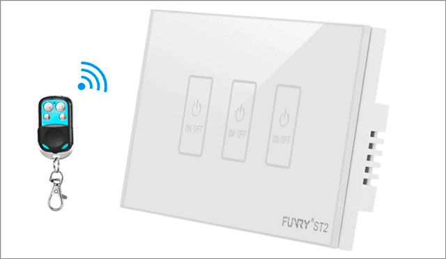 funry touchscreen smart light switch