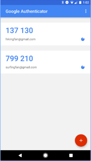 google-authenticator-codes