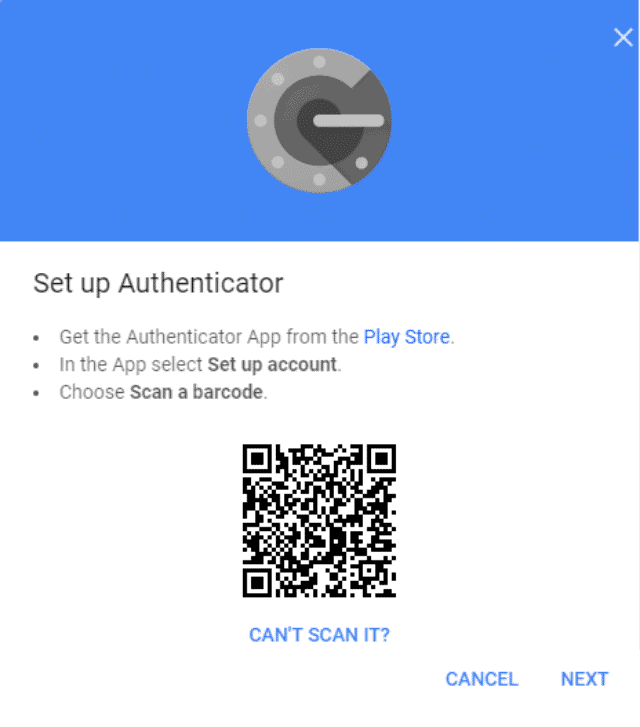google-authenticator-set-up