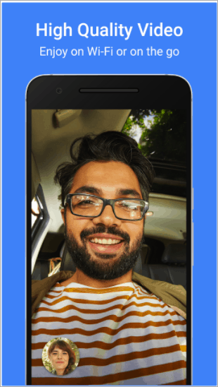 google duo for high quality video calls