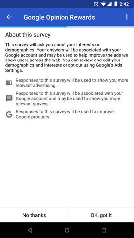 google opinion rewards5 1