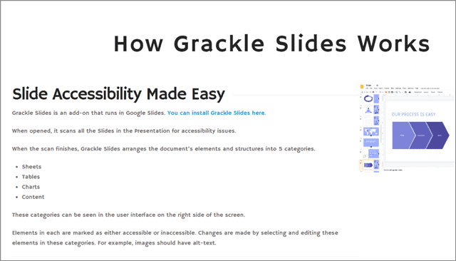 grackle google slides add ons