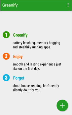 greenify best android cleaner app