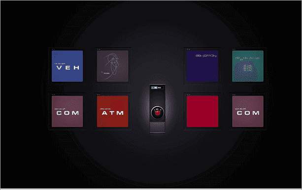 hal 9000 console free screensavers for windows 10