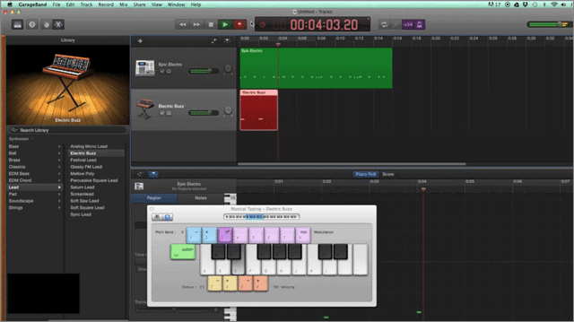 have fun and make your own music with garageband