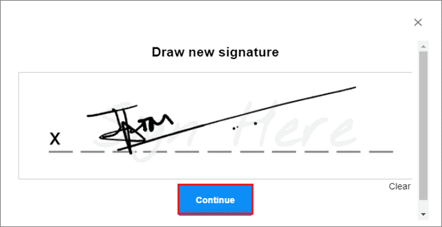 how to insert signature in google docs