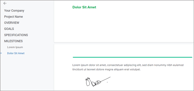 check insert signature in google docs
