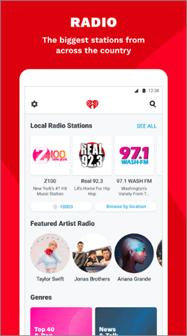 iheartradio best android auto apps