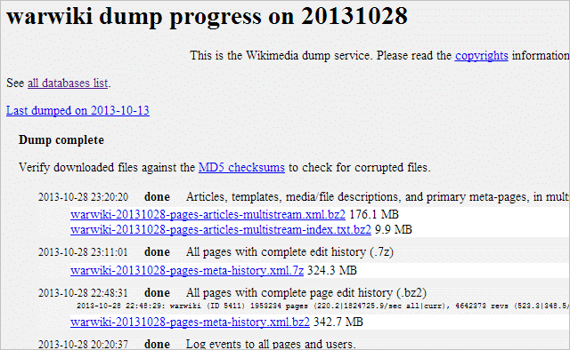 Download-Wikipedia-Dumps