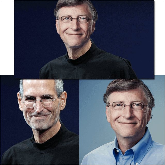Steve-Jobs-and-Bill-Gates-combined-faces-using-GIMP