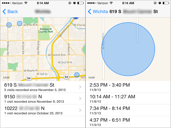 View-past-location-history-on-iOS-7