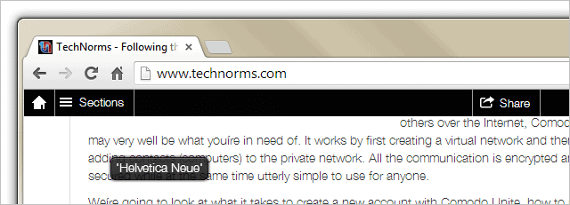 Identify-fonts-on-webpages-with-WhatFont-for-Backtick