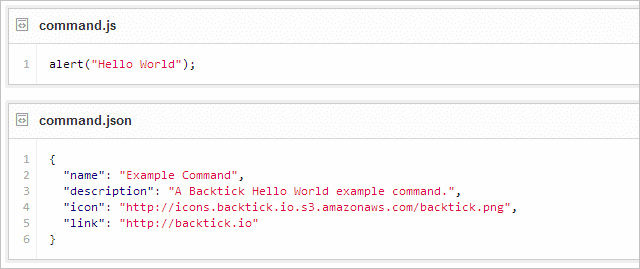 Create-a-custom-command-in-Backtick