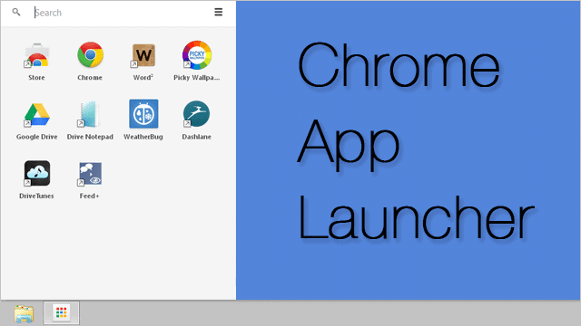 Google Chrome App Launcher Aims to Bring Chrome Apps to the Desktop