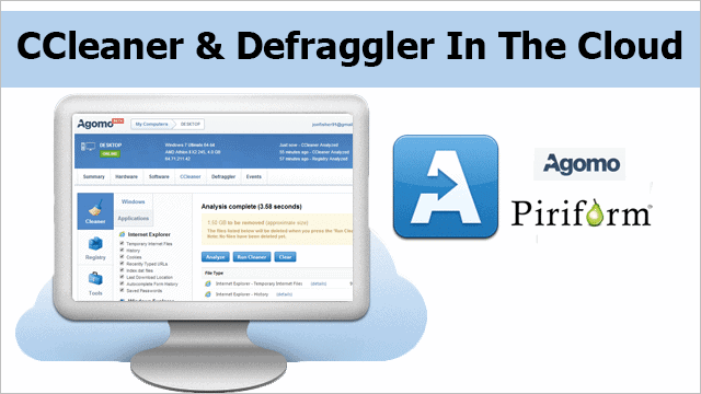 Piriform's Agomo:-CCleaner-and-Defraggler-Access-From-Cloud
