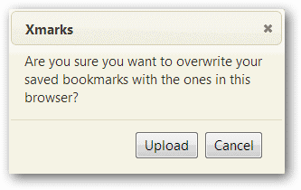 Confirm-Bookmarks-Upload-in-Xmarks-Under-Chrome