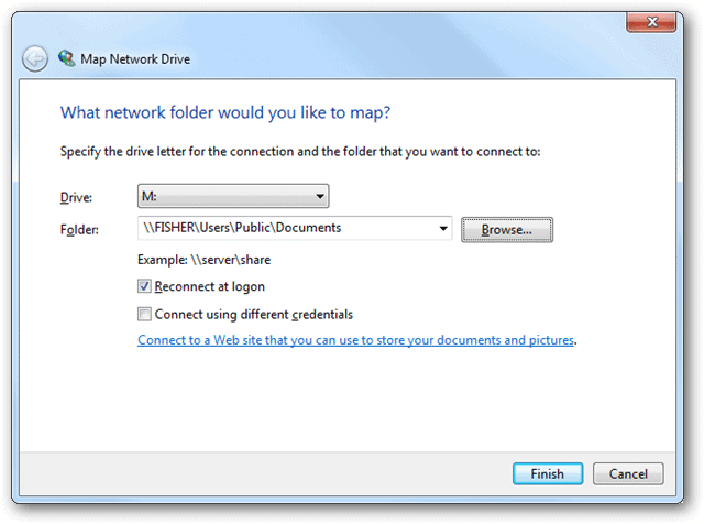 How to Map a Network Drive in Windows 7 - TechNorms Drive Mapping Windows on