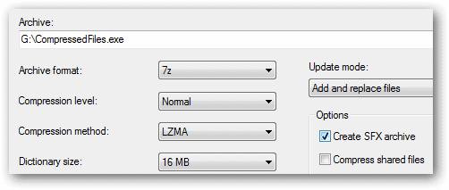 Make-a-self-extracting-archive-file-in-7-Zip