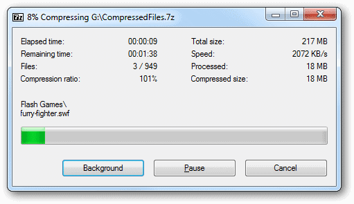 View-the-progress-of-an-archive-compression-in-7-Zip