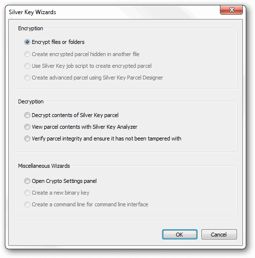 Open-the-Silver-Key-wizard-to-encrypt-files-or-folders