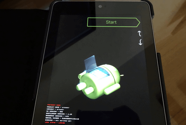 How to Lock and Unlock the Nexus 7 Bootloader