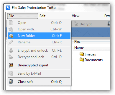 Make-a-new-folder-in-Protectorion-to-organize-files