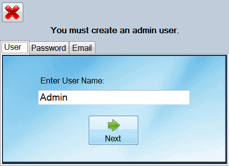 Provide-an-administrative-username,-password,-and-email
