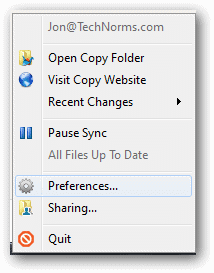 Open-Copy-Preferences