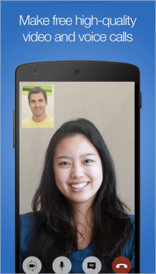 imo facetime app for android