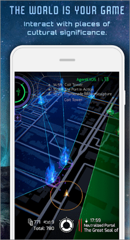 ingress prime augmented reality applications