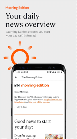 inkl best android news app