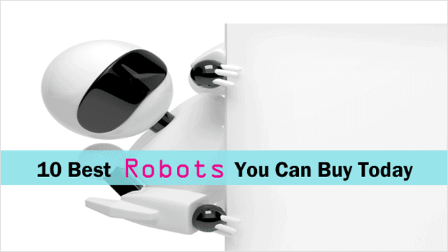 10 Awesome Robots You Can Buy Today (Without Risking Bankruptcy)