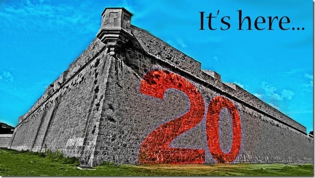 red-number-20-on-a-stone-wall