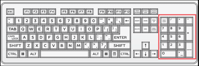 keyboard to add degree symbol in word