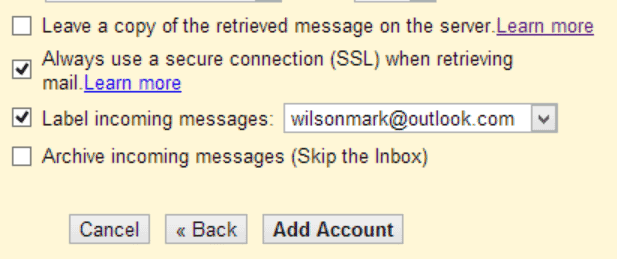 Assigning labels to email makes it easy to sort and filter message sent to different addresses.