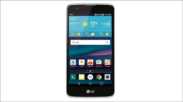 lg k8 smartphones with removable battery