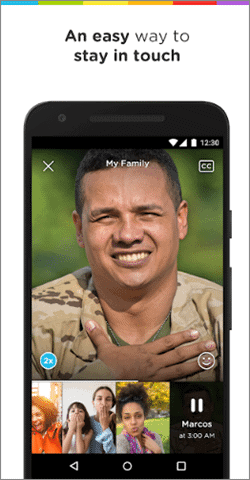 marco polo live video chat app