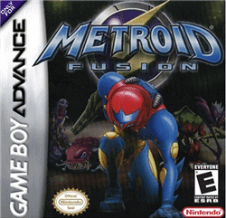 metroid fusion gba games