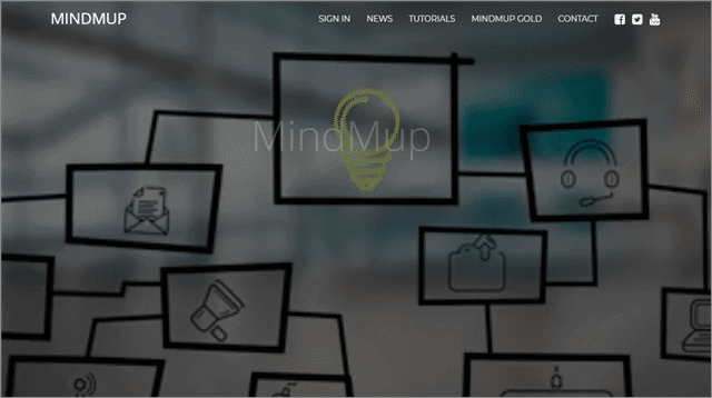 mindmup mind mapping software