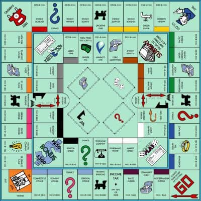 monopoly game board 2
