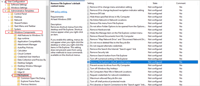 navigate to the given location and select the file