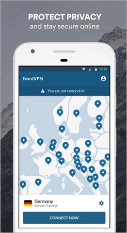 nordvpn best vpn for android